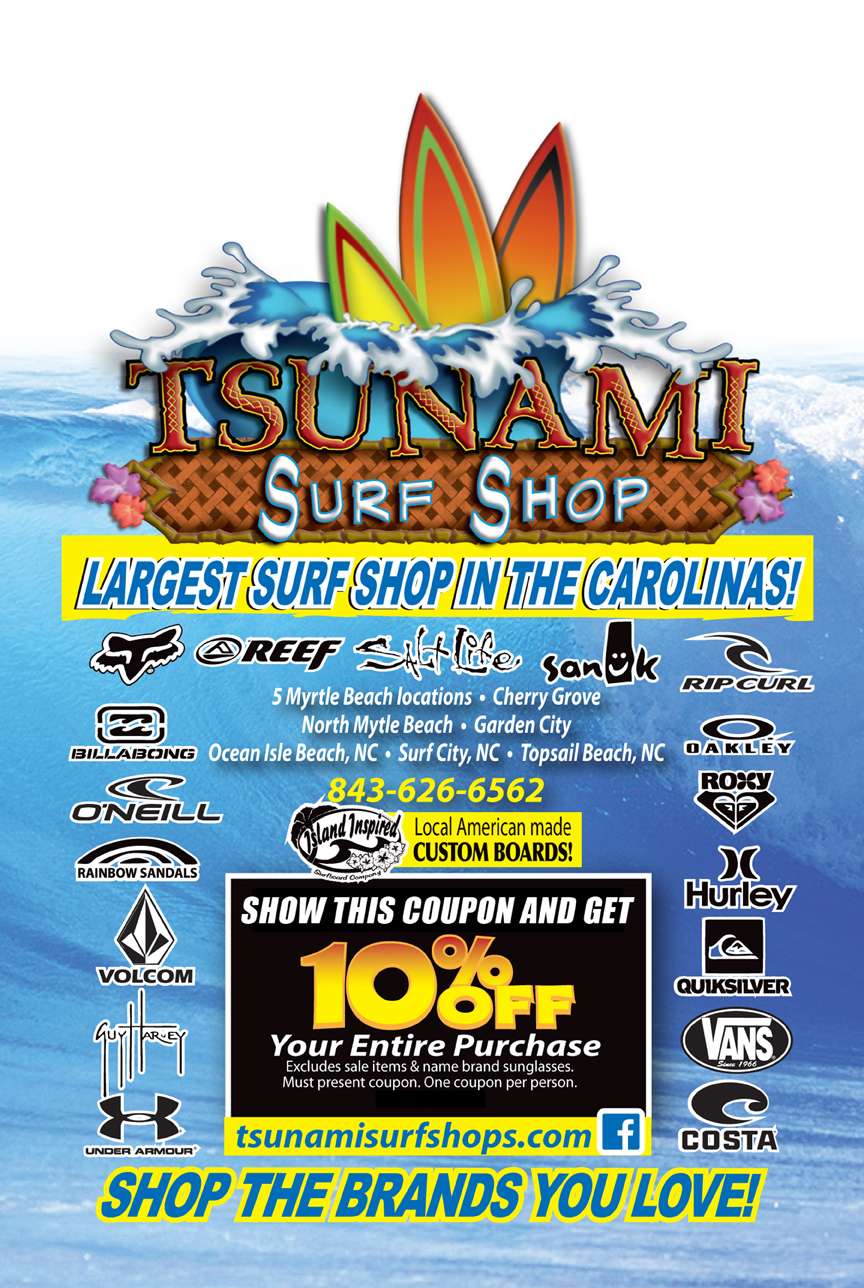 Surf coupons