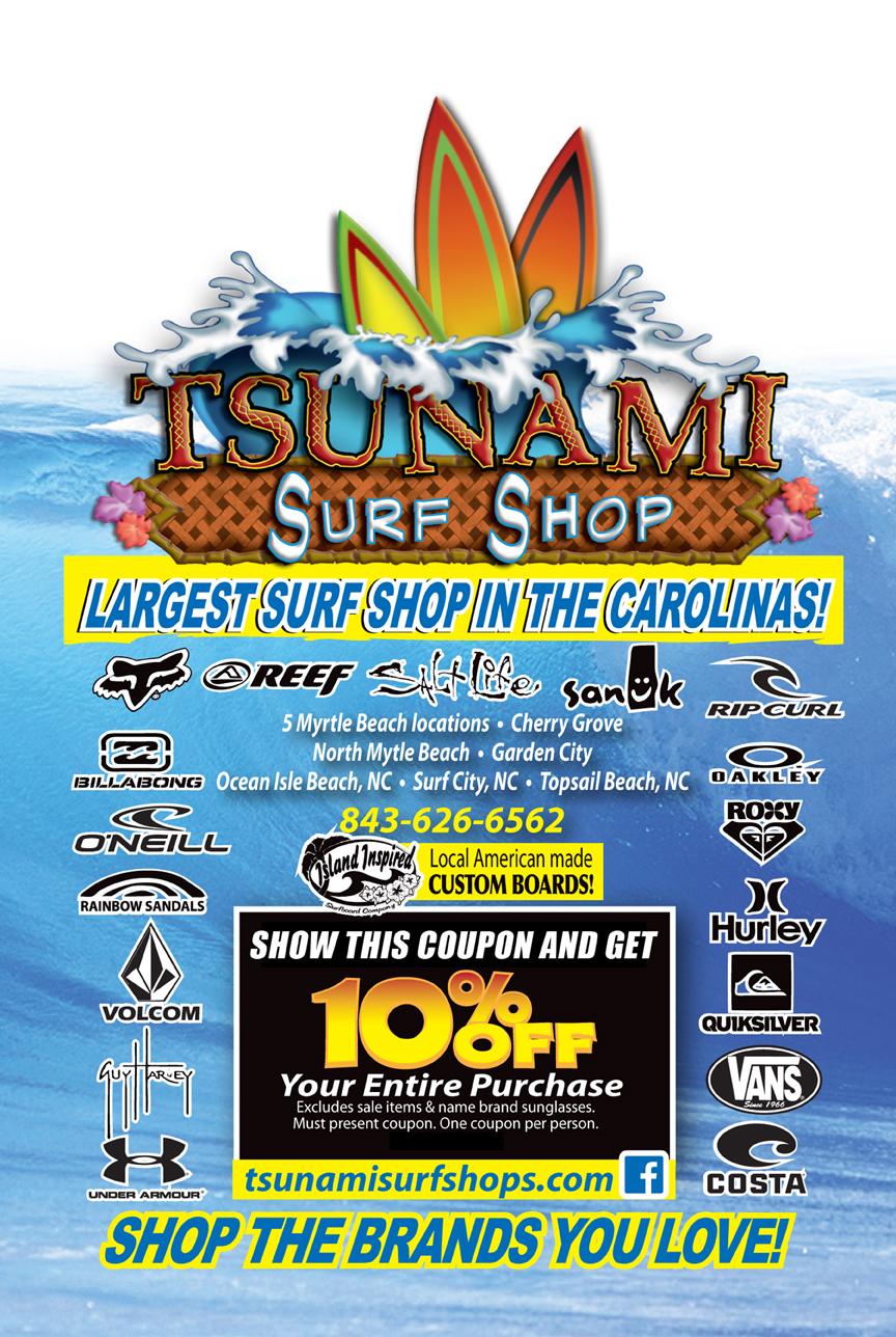 Tsunami Surf Shops Myrtle Beach